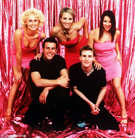 Repeating their success: Steps had two number one albums during their five-year career in the late nineties and now they have a third in The Ultimate Collection