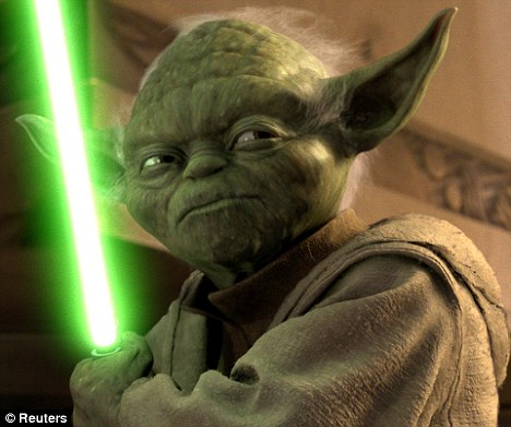 'When 900 years old you reach, look as good you will not': New research suggests early humans ordered their words backwards, like green Jedi Yoda