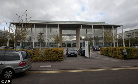 The centre of the problem: The headquarters of Blackberry maker Research In Motion, where a 'core switch' failure led to the outage