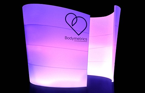 The Bodymetrics pods have become smaller and more compact thanks to advances in technology, meaning more stores across the nation will be able to accommodate one in their changing rooms