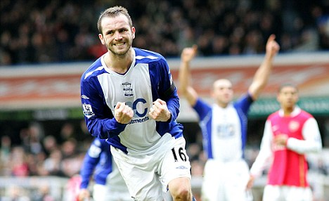 Scoring form: Everton fans will be hoping McFadden can get on the score sheet for the Toffees