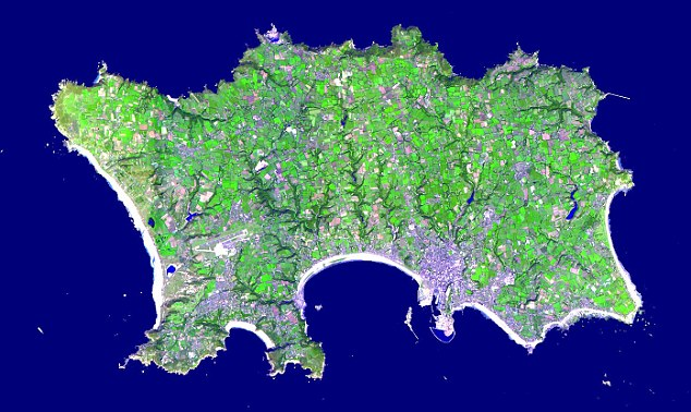 Jersey in 3D: 260,000 new scans have been added to Terra's world map to create the most detailed digital topographic map of the world to date