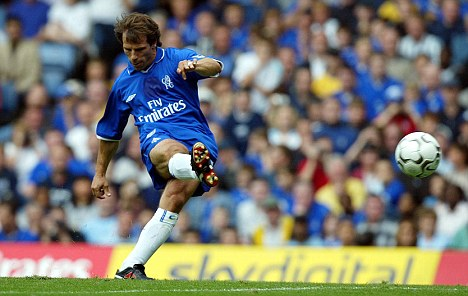 Legend: Zola is arguably Chelsea's greatest player