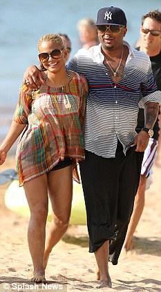Happier times: The pair married in Las Vegas in 2009