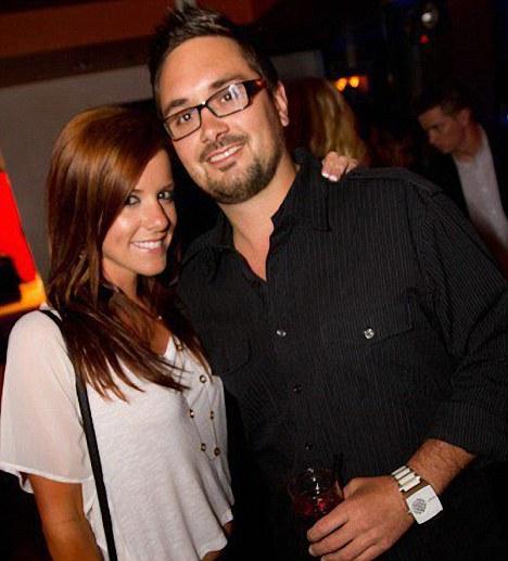 Jessica Donaldson and her burly nightclub promoter boyfriend Brandon Thomason