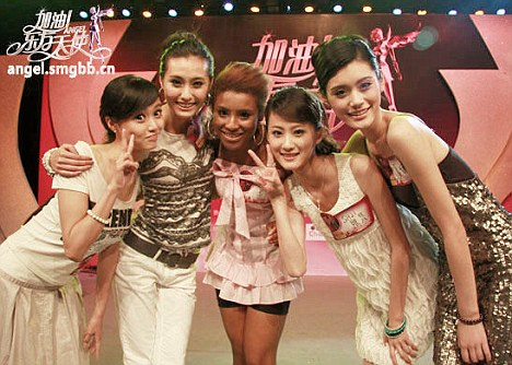 Budding performers: The days of talent shows such as 'Go Oriental Angels' (above) will be numbered under new broadcasting laws
