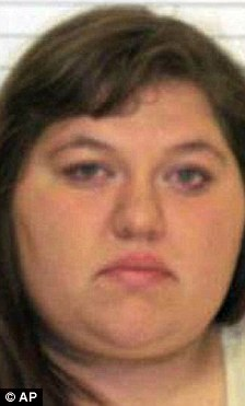 Charged: Samantha Eyten lived in the trailer with Clark, her husband and their own two children