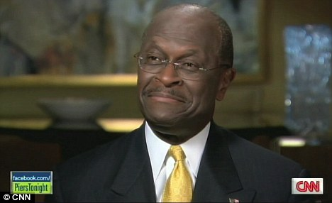 Herman Cain was very entertaining to talk to, but beneath the cheery demeanour lie some pretty far-right conservative views