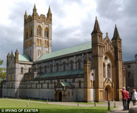 Inquiry: At the time of his arrest, Christopher Jarvis was leading an investigation into an historic sex abuse allegation at Buckfast Abbey in Devon. The Roman Catholic Church has now ordered a review of child protection across the South West of England