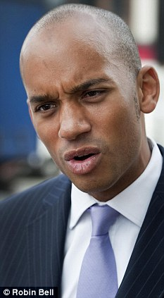 Serious concern: Shadow Business Secretary Chuka Umunna