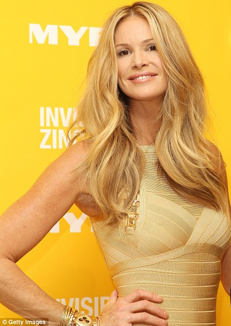 Had a little help? Elle Macpherson has sparked surgery rumours after being spotted with a significantly larger cleavage