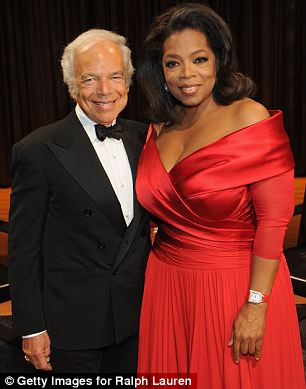 Watts' revelations is the latest in a string of problems for the billionaire, seen her with her friend Ralph Lauren when she interviewed him last week at Lincoln Center