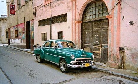 Complicated: Without a property market, Cubans have only been able to exchange properties through barter agreements and many families are crammed into tiny apartments