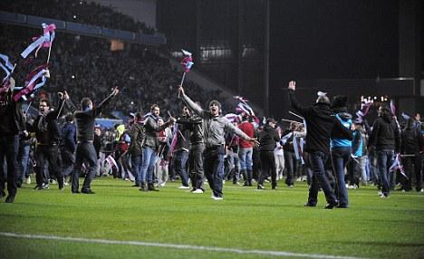 Villa-delphia: Hanks is keen to sit amongst the Aston Villa faithful