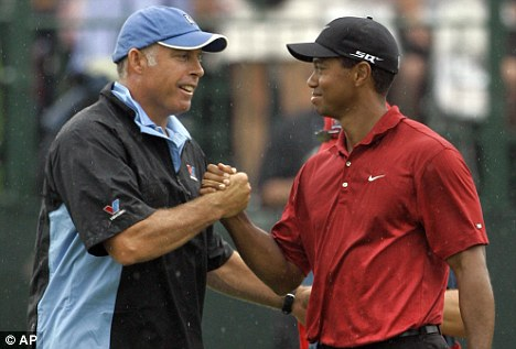 Blast: Williams and Tiger Woods worked together for more than 10 years