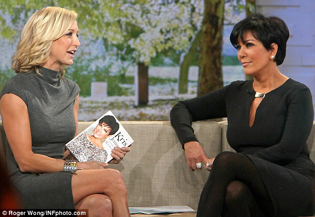 She's keeping it: Kris Jenner told host  Lara Spencer that Kim will keep her $2 million engagement ring during an appearance on Good Morning America