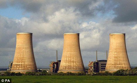 Power station: Nuclear power could prove to be more economical than wind