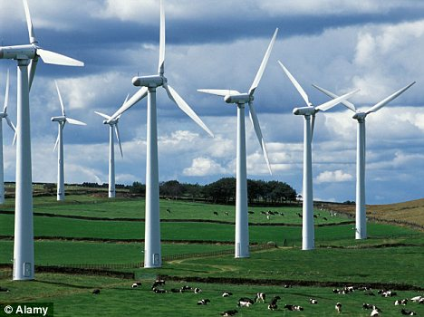 Wind farm: A new report suggests scrapping them would save the UK billions