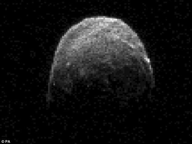 Meet YU55: This NASA/JPL-Caltech image shows asteroid 2005 YU55 on when it was about 860,000 miles from Earth, It will pass within 198,000 miles today