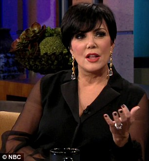 Reality matriarch: Kris says that she 'does not know Kim's innermost thoughts'