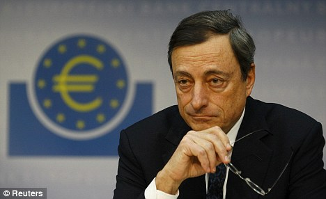 Intervention: New ECB boss Mario Draghi would not relish having to buy Italian bonds