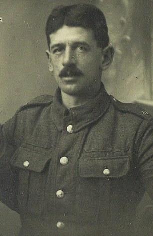 Barnard Beechey killed in action in the Great War