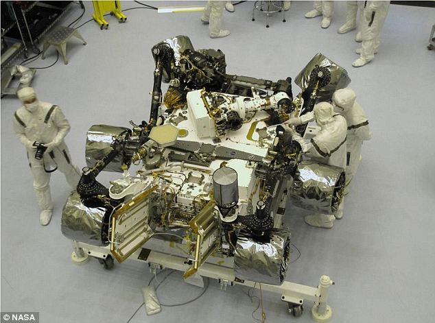 Size matters: The Mars Science Laboratory is the biggest and most sophisticated planet-roaming machine ever to be deployed