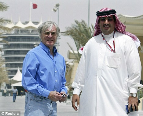 Desert dreams: Bernie Ecclestone and Mohammed Al Khalifa