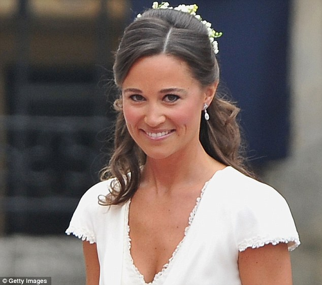 Grin and bear it: Friends of Pippa said it won't be long before she has pieced herself back together as she is known as 'tough and focused'