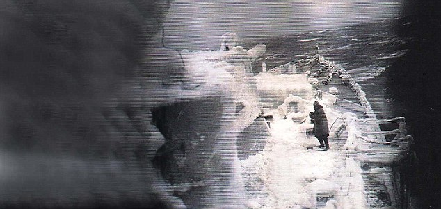 Hell in the Arctic: Apart from the appalling cold, British seamen were under constant threat from U-boats, warplanes and battleships