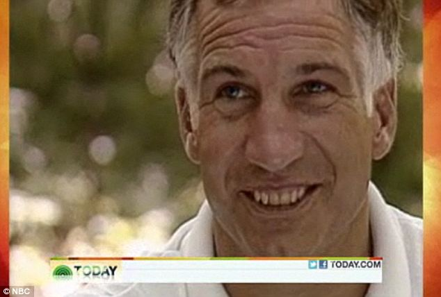 Behind the smile: Jerry Sandusky was interviewed by NBC in October 1987, ten years after starting his charity