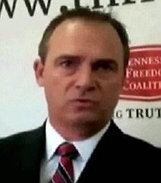 Contentious: Tennessee Republican Rick Womick claims all Muslims should be forced out of the U.S. military