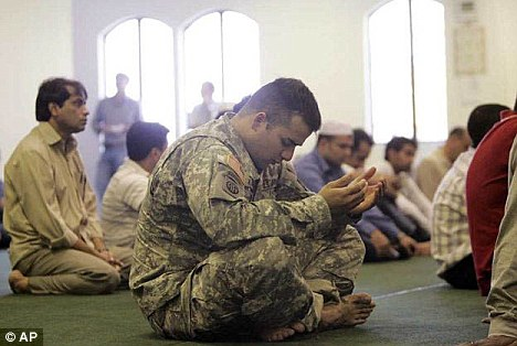 Duty: There are an estimated 3500 Muslims serving within the U.S. armed forces