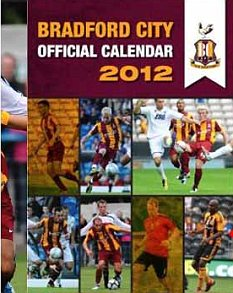 Cover story: Dele Adebola on the front of Bradford calendar