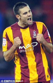 Bradford City's Richie Jones