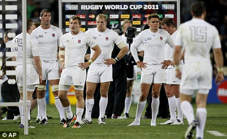 Not good enough: England were dumped out unceremoniously by France in the quarter-finals