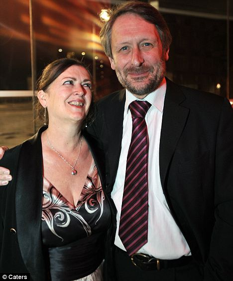 Sir Peter Soulsby with his wife Alison