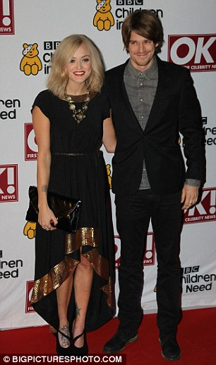 Hot couples: Fearne Cotton and her boyfriend Jesse Wood attended as did Jason Donovan and his wife Angela