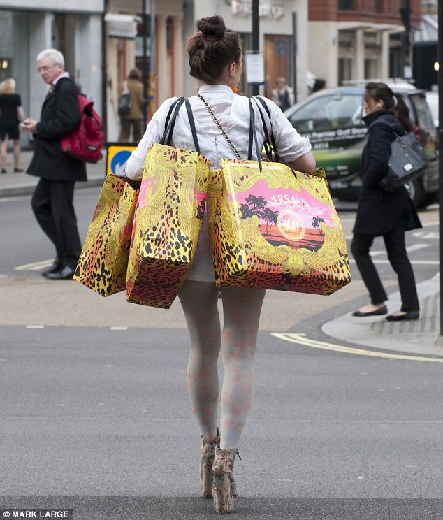 Shopped out: An entire new Versace wardrobe for this shopper