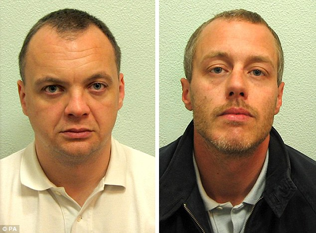 Gary Dobson, 36, left, and David Norris, 35, right, both deny murder.