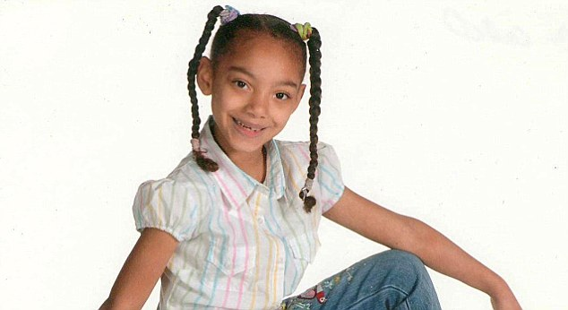 Tragic waste: Jasmine McClain, ten, hanged herself in her bedroom after being a victim of suspected bullying