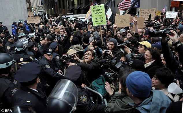 Mayhem: Various newspapers have been coming out against Occupy Wall Street over the past few weeks, tapping into a developing feeling of growing negativity towards the protesters across the U.S.