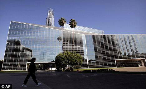 Standout: Crystal Cathedral has been sold to the Diocese of the Roman Catholic Church in Orange for $57.5million