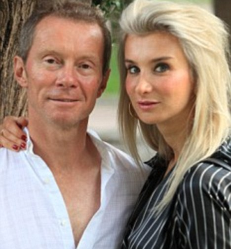 Couple: Martin coward with girlfriend Christiano Di Santo