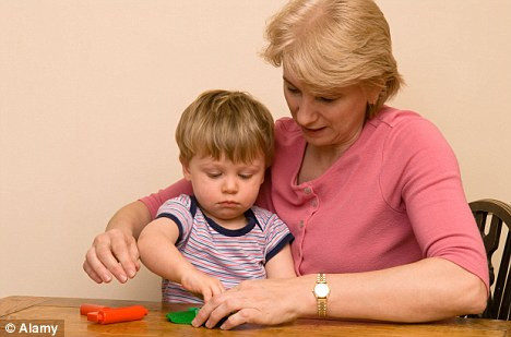 Older mums: The number of women choosing to have children in their 40s has increased by 70 per cent in just a decade