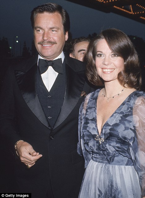 Married life: Robert Wagner and Natalie Wood attend an event in LA in 1980, a year before her tragic death