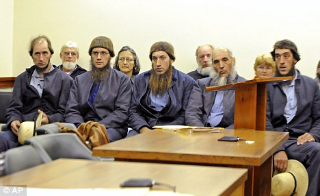 Alleged Amish beard cutters