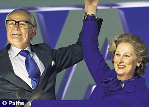 Jim Broadbent and Meryl Streep in The Iron Lady