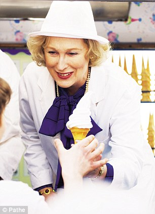 Meryl Streep plays Margaret Thatcher on the campaign trail in 1979, handing out ice-creams