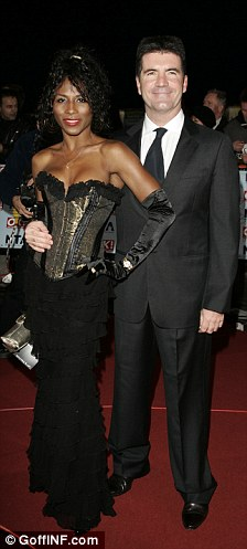Passed loves: Sinitta dished the dirt on former lovers when she was in the jungle